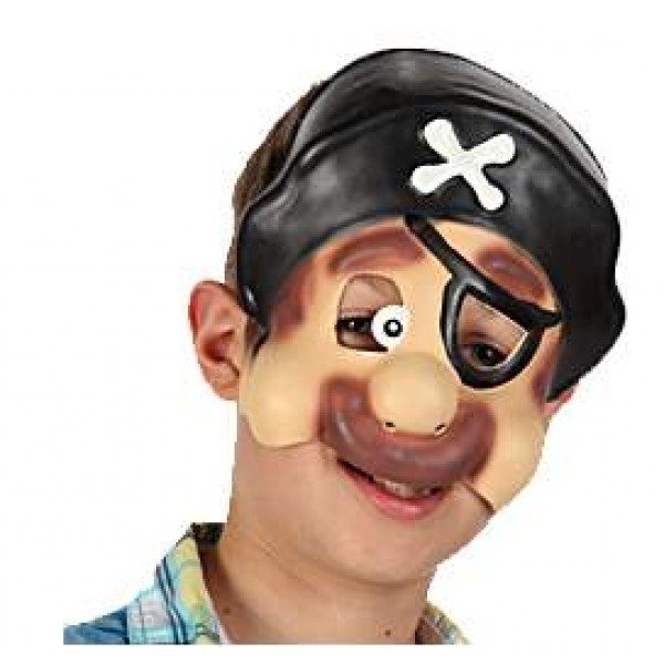 Demi Masque Enfant - Pirate - 95825-PI