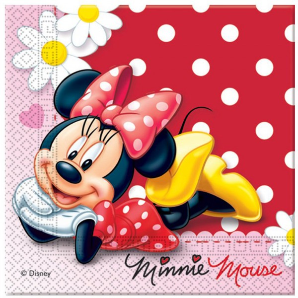 Serviettes Minnie© Disney™ x20 - 80176