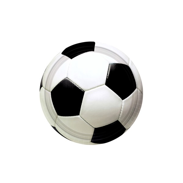 8 Assiettes Football Party (22.8 cm)  - 557040