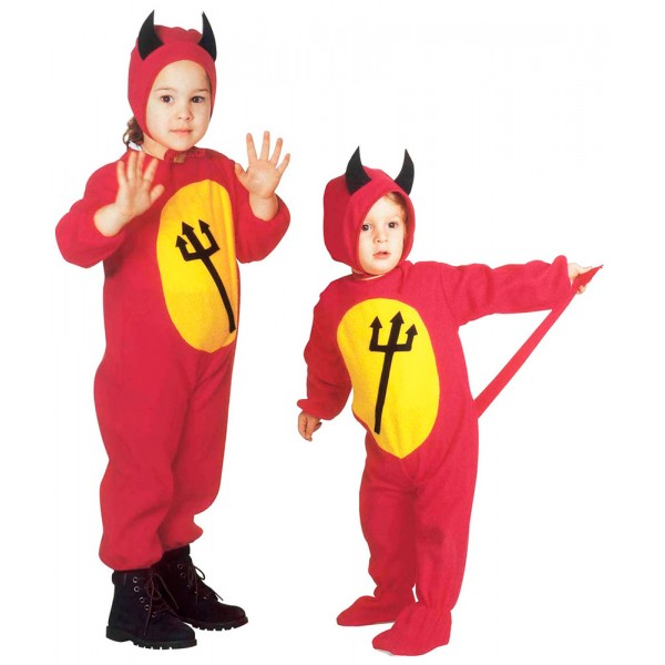 Costume de Bon Petit Diable - Bébé - Mixte - 3616D-Parent