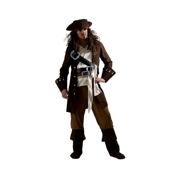 Déguisement De Pirate Jack Sparrow™ (Pirates Des Caraïbes™) - Adulte - parent-1351