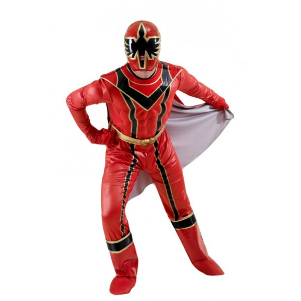 Déguisement Power Rangers™ Rouge (Mystic Force™) - Adulte - parent-1352