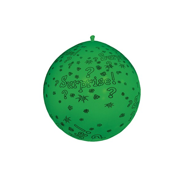 Ballon Vert 1M - Surprise - 11166_VE