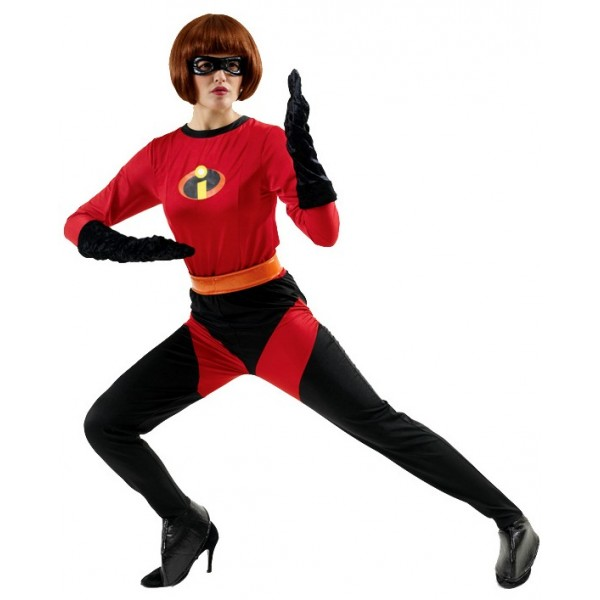 Costume Mrs Indestructible™ Deluxe - The Incredibles™ - Disney/Pixar© - parent-425