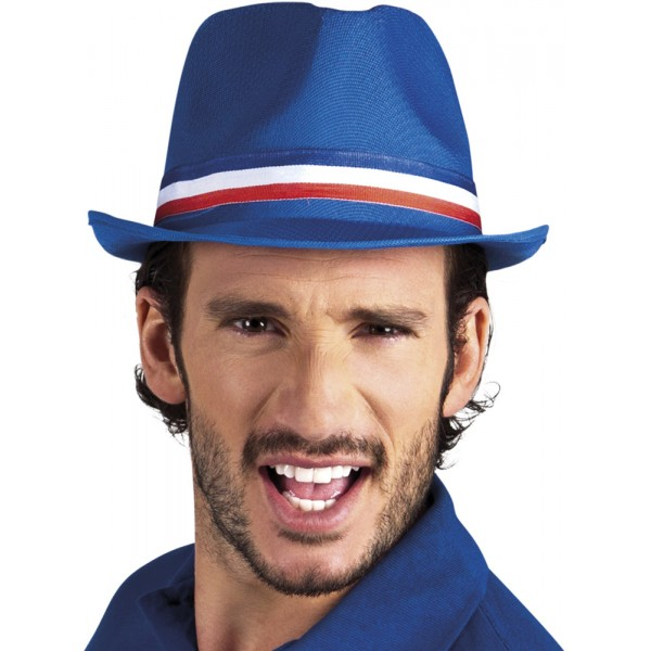Chapeau Borsalino Supporter France - Adulte - 62030