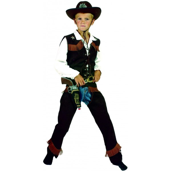 Costume De Clint Le Cowboy - parent-12469