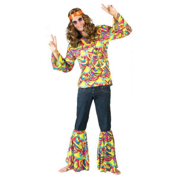 Déguisement de Hippie - Rainbow Dude - Homme - 608370-parent