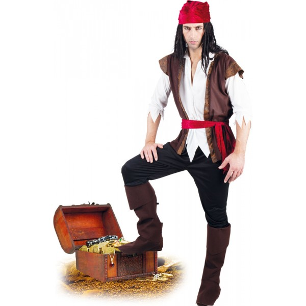 Déguisement - Pirate Thunder - Homme - 83533-Parent