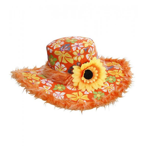 Chapeau Hippie Ibiza Tournesol - Orange - 2596A