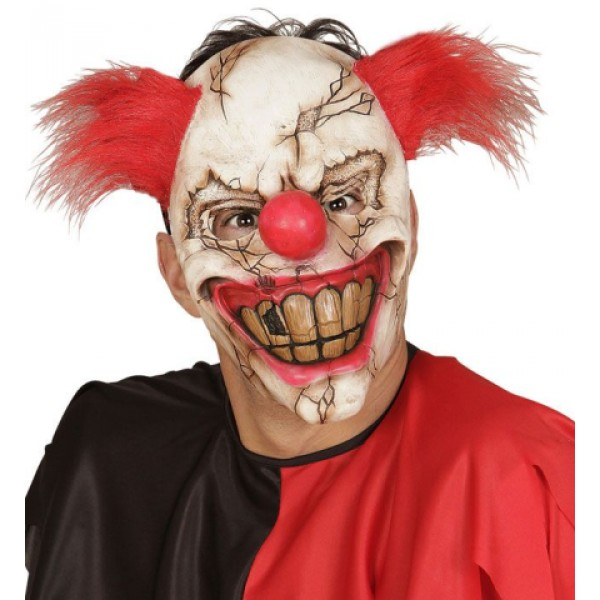 Demi-Masque Clown Tueur - 00840