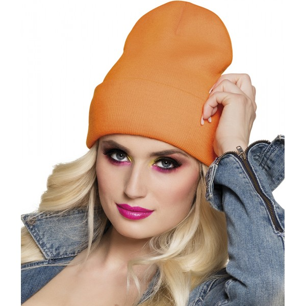 Bonnet Fluo Orange - Adulte - 01970-ORANGE