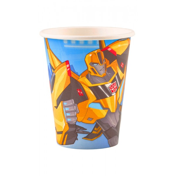 Gobelets - Transformers Robots In Disguise™ x 8 - 9901303