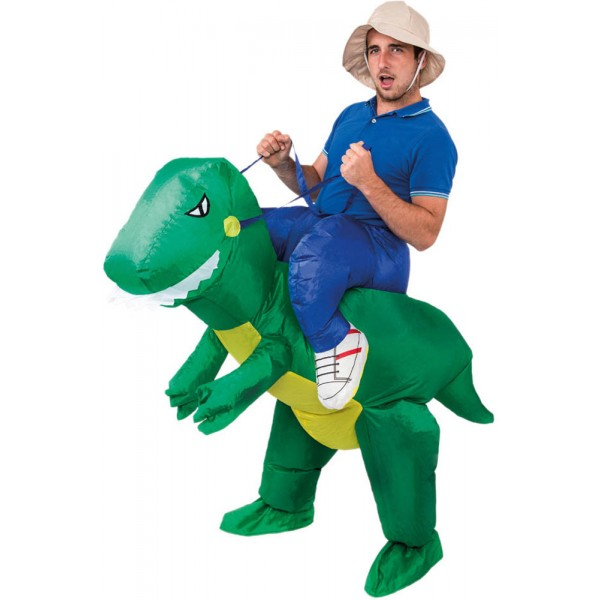 Déguisement Carry Me Gonflable - Dinosaure - C4221-Parent
