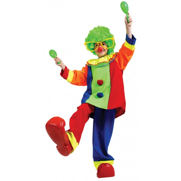 Deguisement Carnaval : Costume Bozo Le Clown - parent-12618