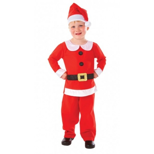 Costume Petit Papa Noël - Enfant - parent-15231