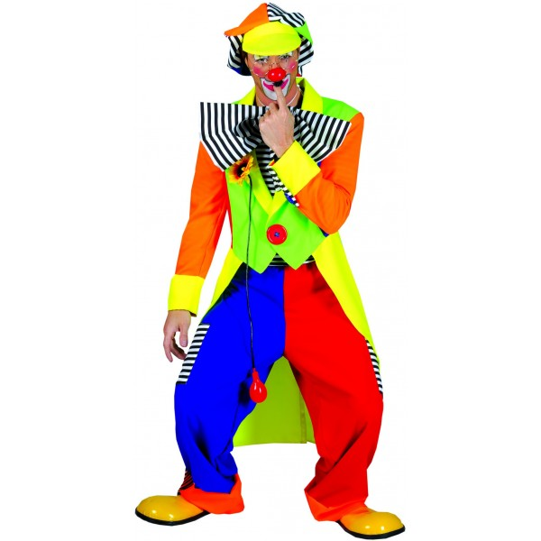 Deguisement Carnaval : Costume Achille Le Clown - parent-12620
