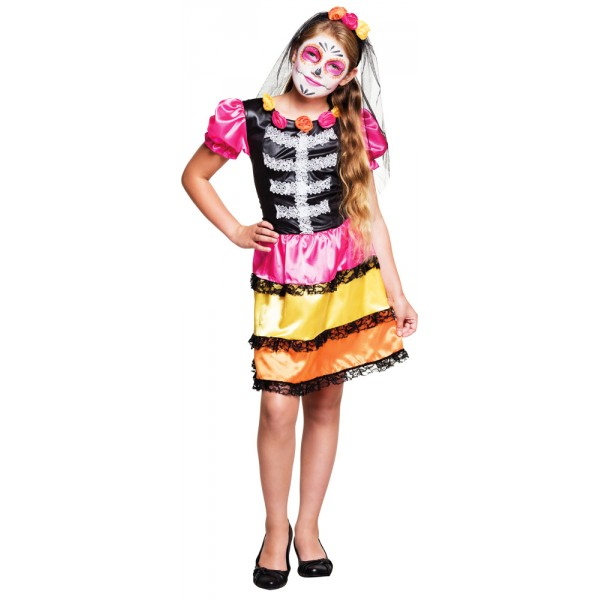 Costume - Nina Calavera - Fille - 78115-parent