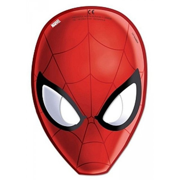 Masques Spiderman Ultimate™ x6 - 85179