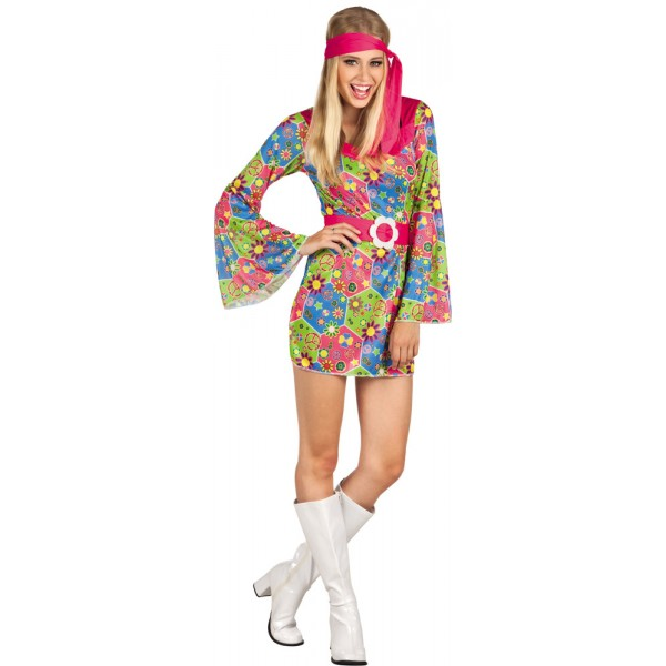 Déguisement Flower - Hippie Femme - 83853-Parent