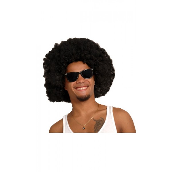 Perruque Afro Extra Large Noire - 86020