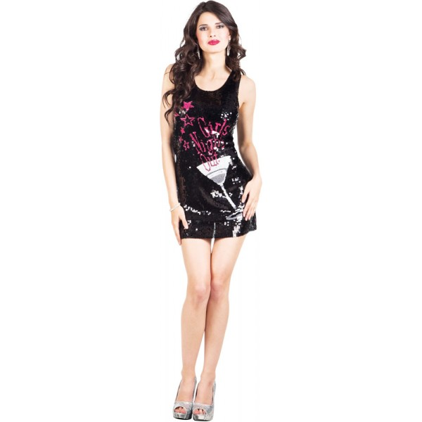 Robe à Sequins - Girls Night Out - Adulte - 87108-Parent