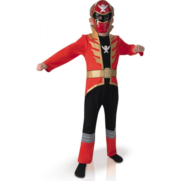 Déguisement Power Ranger Rouge™ Enfant - Mégaforce™ - parent-22457