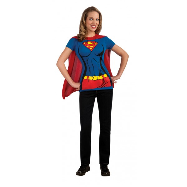 Tee-shirt Supergirl™ - Adulte - parent-16585