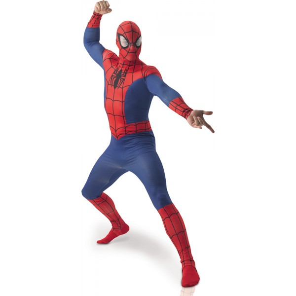 Déguisement Spiderman™ - 2nd Skin - parent-22463