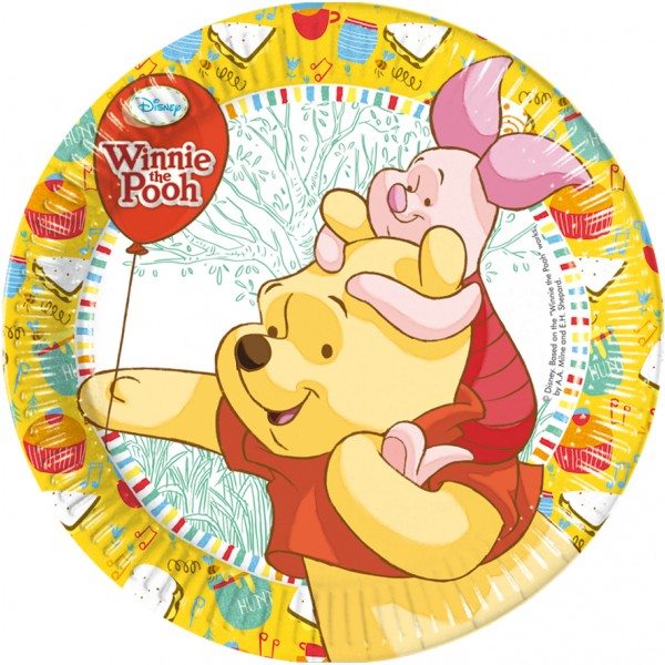 Assiette Winnie L'Ourson™ - Disney™ - 81547