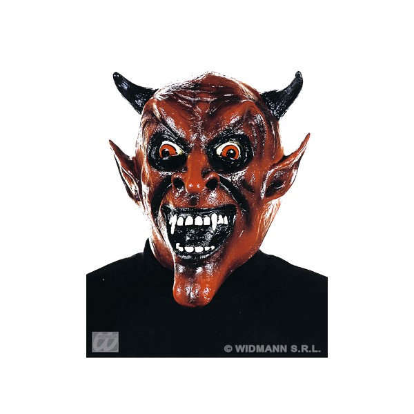 Masque Vinyle Diable - Adulte - 8293M_DIA