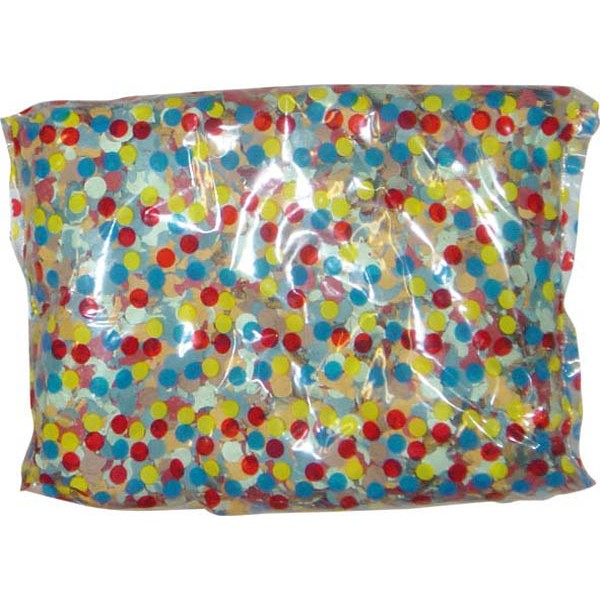 Sachet de Confettis Multicolores - 100gr - CO2700