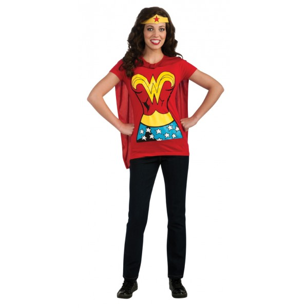 Tee-Shirt Miss Wonder Woman™ - parent-15395