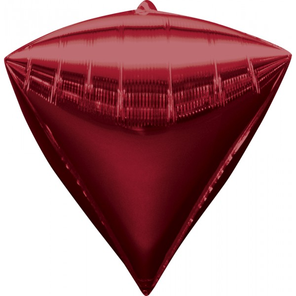 Ballon Diamant Rouge Mylar  - 2834499