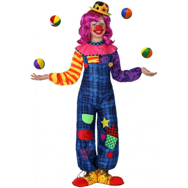 Costume Carnaval - Clown Fille - parent-19045