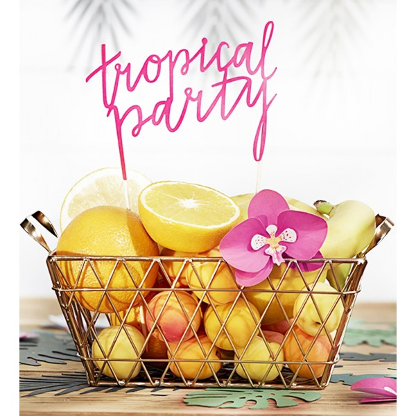 Cake Topper - Aloha - Tropical Party  - KPT13-080