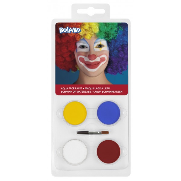 Set de maquillage à l'eau Clown - 45041