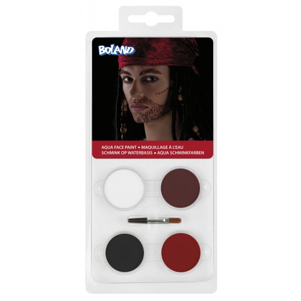 Set de maquillage à l'eau Pirate - 45040
