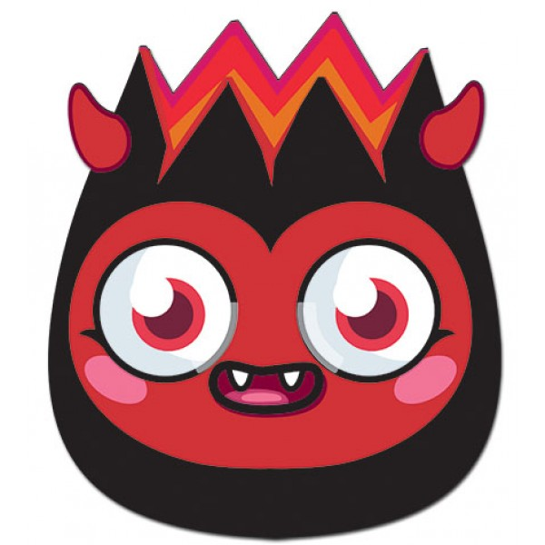 Masque en Carton Diavolo - Moshi Monsters™- - DIAVA01