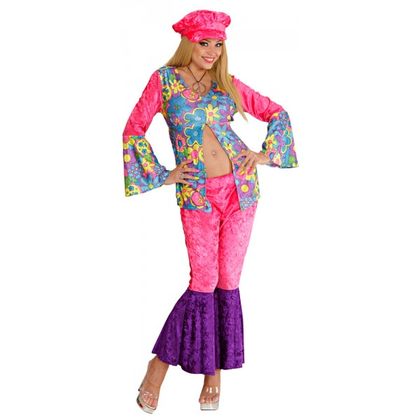 Déguisement Hippie Flower - Femme - 35421-parent