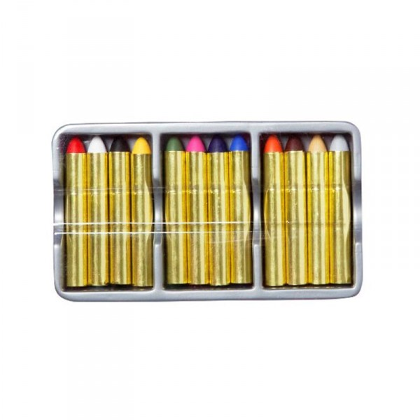 Set de 12 crayons de maquillage - Goodmark-02020170-2