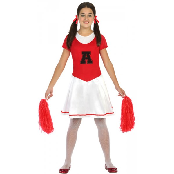 Déguisement Cheerlearder - Enfant - Atosa-20372-Parent
