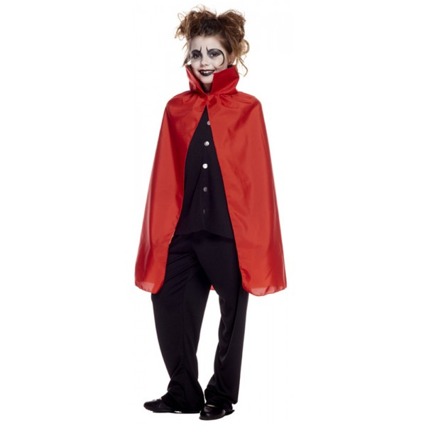 Cape de Vampire Rouge - Enfant - AQ01801/ROUGE