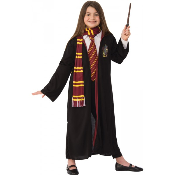 Robe Avec Cravate Echarpe et Baguette - Harry Potter™ - Enfant - G40022-Parent