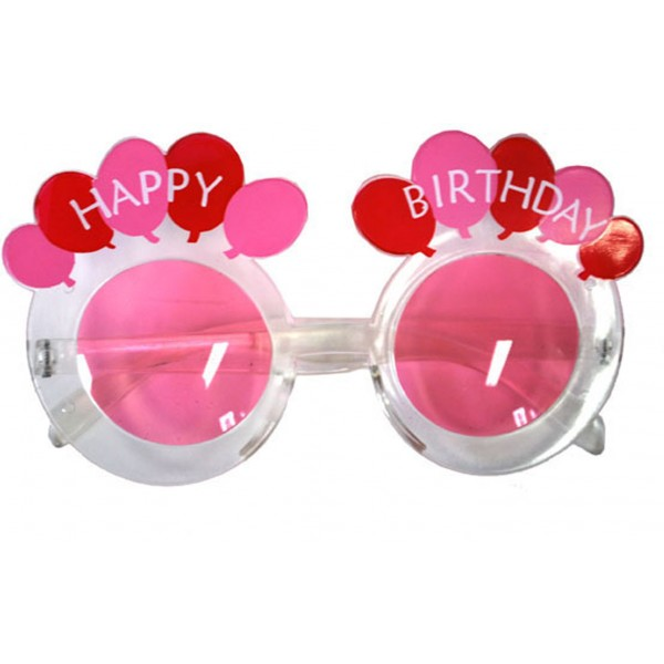Lunettes Happy Birthday Rose - 60742