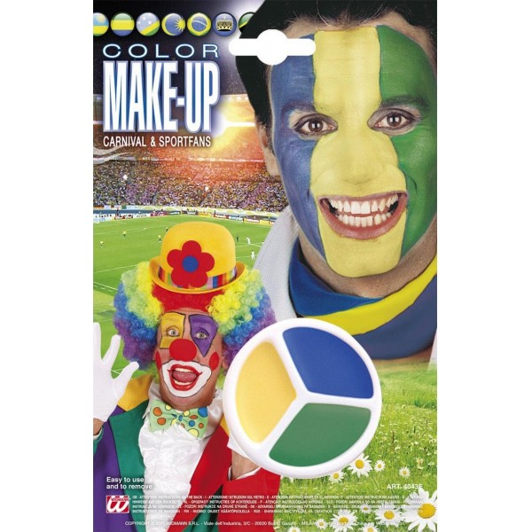 Maquillage Brésil - Supporters - 4043E