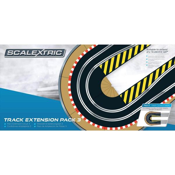 Pack extension de circuit de voiture n°3 : Courbe en épingle - Scalextric-C8512