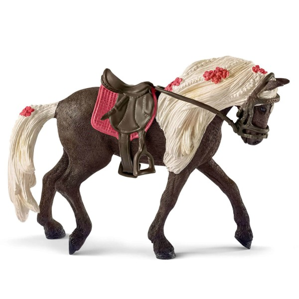 Figurine cheval : Jument Rocky Mountain Horse Spectacle équestre - Schleich-42469
