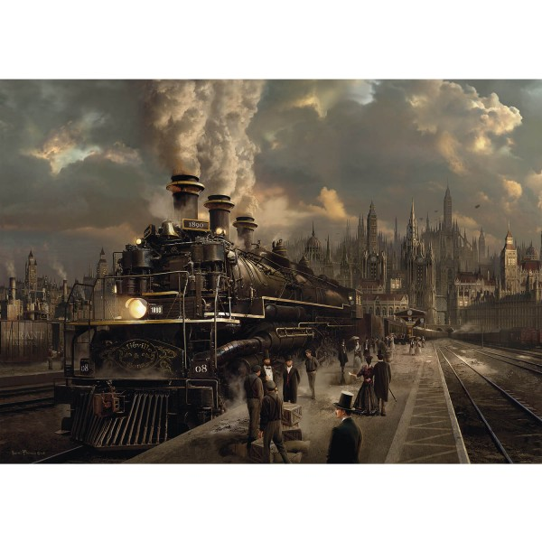 Puzzle 1000 pièces : Sarel Theron : Locomotive - Schmidt-58206