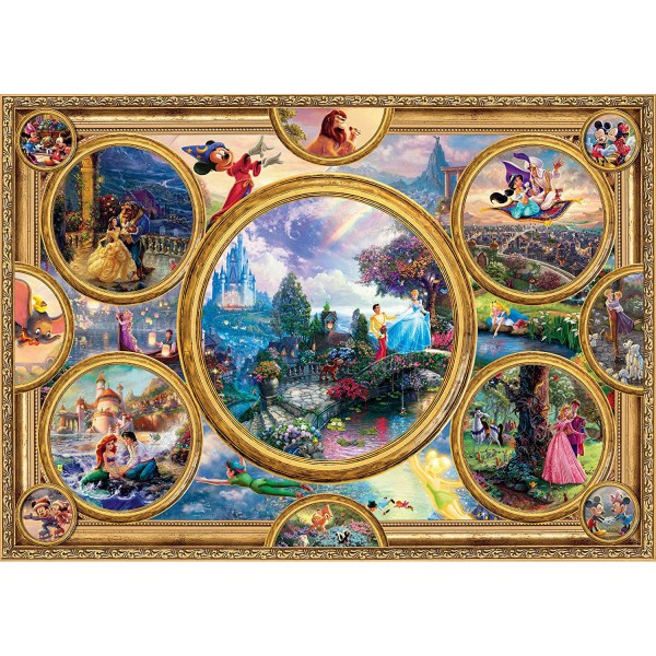 Puzzle 2000 pièces : Dreams Collection, Disney - Schmidt-59607