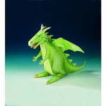 Maquette en carton : Dragon